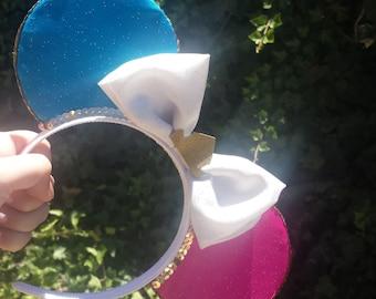 Pink + Blue Sleeping Beauty Ears