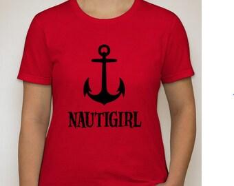 Women's NAUTIGIRL Anchor T-Shirt