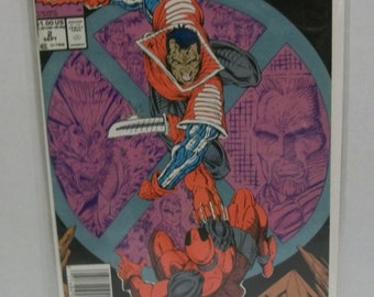 1991 X-Force  #2 Kane vs Deadpool 2nd Appearance  Rob Liefeld VF-NM Unread Vintage Marvel Comic Book