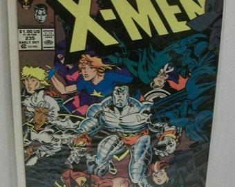 Vintage 1988 Marvel Comics Uncanny X-Men #235  Vol 1 Welcome To Genosha, 1st Appearance of Genosha VG-VF Chris Claremont Unread Comic Book