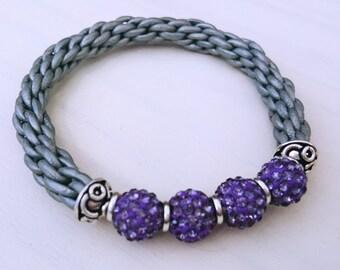 Shamballa Braid Bracelet