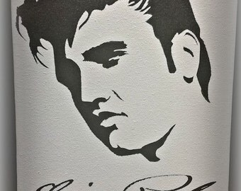 elvis canvas art the king elvis presley elvis wall art the king