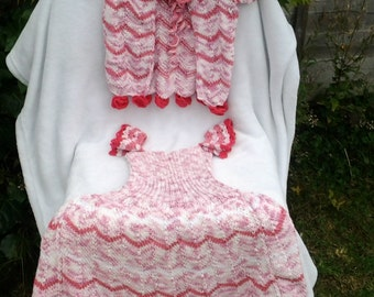 dress and cardigan for little princess