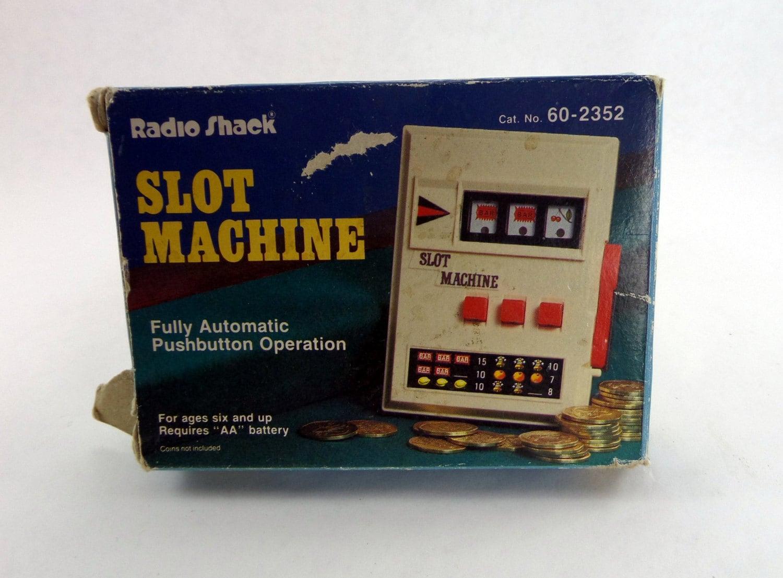 radio shack machine