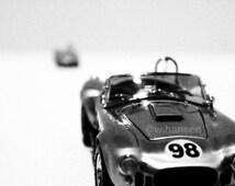 CAR PHOTO: Classic AC Cobra Miniature Car