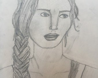 Original Katniss drawing