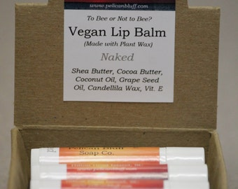 Vegan Lip Balm   Naked