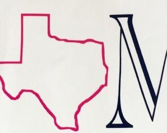 "Texas ""Home"" Decal"