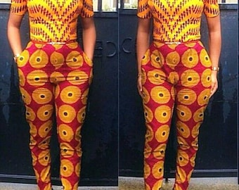 Ankara Jumpsuit,  African jumpsuit, African party, African wedding, floral jumpsuit, African clothing, African Print jumpsuit,