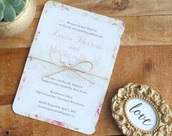 Outdoor Rustic Wedding Invitation Template, Casual Wedding Invitation Digital Download, Whimiscal Wedding Printable Invitation