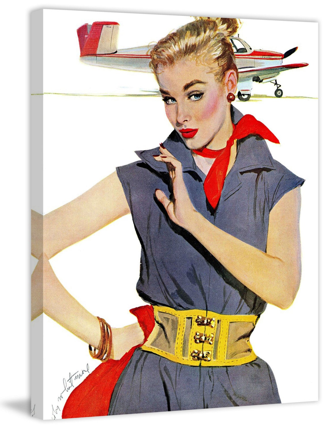 Marmont Hill The Girl Who Stole Airplanes By Coby Whitmore