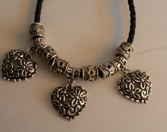 """Bracelet """"TIBET heart"""" - unique - fit the chain"""