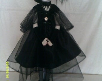 Vivienne is an original handmade art doll strictly OOAK