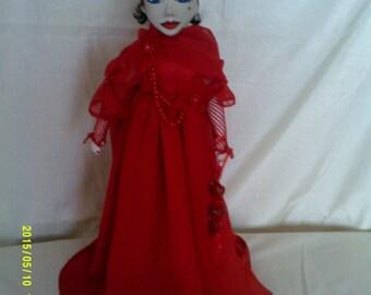 valentia an original  Art doll