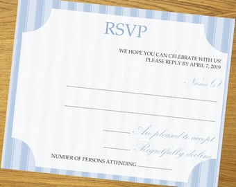 RSVP, RSVP design, diy RSVP template, all colors available, beautiful floral design, 4.5 x 6.5 inches, #001-005