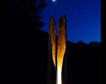 sculpture illuminated 1