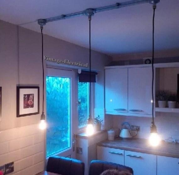 Items op etsy die op industri le plafond licht diner keuken restaurant montage vintage edison - Licht industriele vintage ...