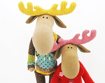 "Moose Couple ""Betty & Paul"""