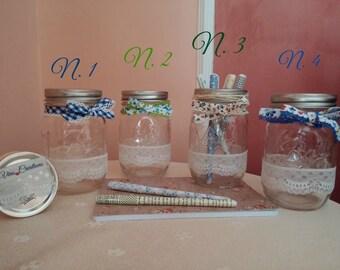 Jars (Vases)---> BALL MASON JAR---> Decorated