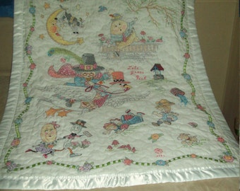 Mother Goose Quilt Etsy