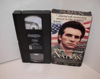 To Heal A Nation Eric Roberts Vietnam Wall VHS Tape Free Shipping