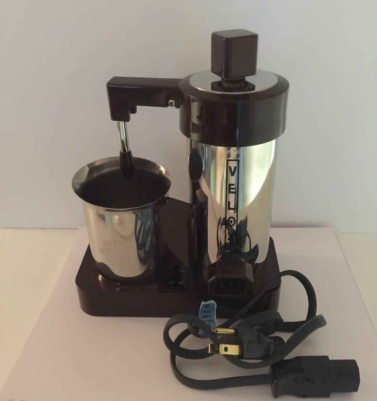 Electric Espresso Coffee Maker ~ Velox electric espresso coffee maker with electonic sound