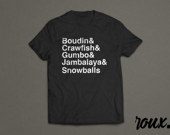 Louisiana Favorites - Shirt
