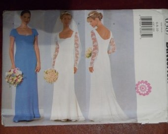 Sewing pattern Butterick 6387 Misses' dress new uncut size 6 to 10