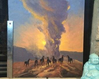 Fire On Dober Mountain