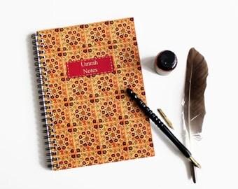 Umrah Notes, Umrah Journal, Umrah Planner, A5 Notebook