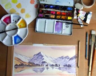 Watercolour online course