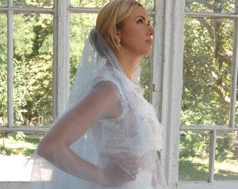 Blue wedding veil blue veil, drop veil, cathedral veil, unique veil, wedding veil, bridal veil