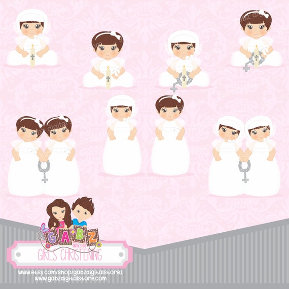 Baby Girl Baptism Clipart | www.imgkid.com - The Image Kid ...