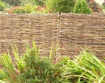 6' x 3' Hazel hurdle/fence panels - FREE DELIVERY