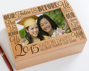 Graduation Memories Personalized Photo Keepsake Box