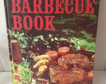 Men's Cookbook Barbecue Book Better Homes and Gardens Vintage 1965