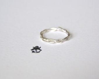 Classybugs Braided Ring