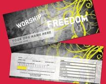 Church Ministry Tithe Envelope