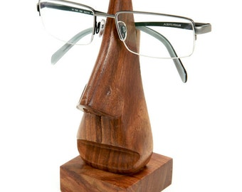 Hand Carved Eyeglass Holder