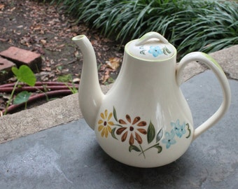 Spring Daisy Teapot by Maruta Japan Hand-painted