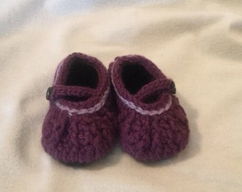 Crocheted Baby casual bootie