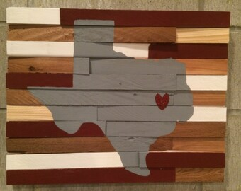 College Wall Hanging - Texas A&M University
