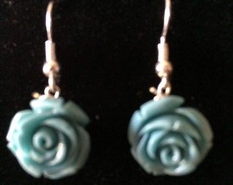 Blue Turquoise Rose