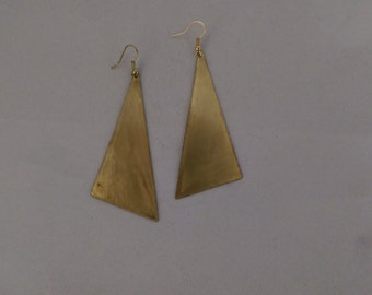 The Right Triangle for You Earrings