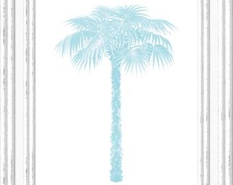 Palm Tree Print, Palm Tree Wall Art, Palm Tree Printable, Digital Palm Tree Printable, Printable Palm Tree Art, Printable Digital Art