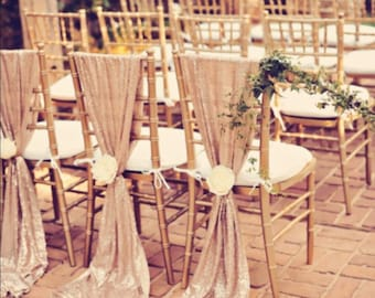Beautiful Sequin Chiavari Chair Sash. Weddind Decoration. discount for over 10 pieces!