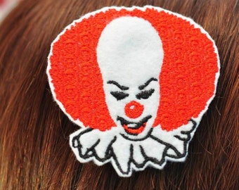 Pennywise hair clip