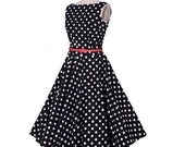 Audrey and the Spots Dress