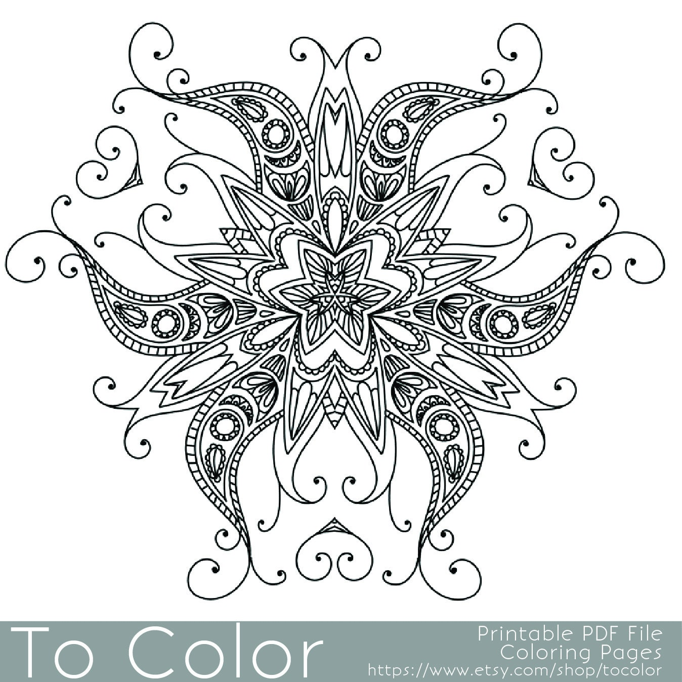Trust image with intricate coloring pages printable
