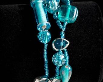 Turquoise 3-Strand Bracelet